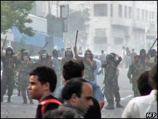 Violência no Irã