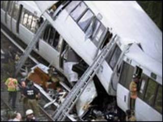Tai nạn xe lửa xảy ra vào giờ cao điểm tại Washington DC