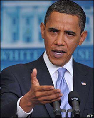 Barack Obama durante entrevista em Washington