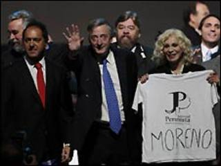 Candidatos a las elecciones legislativas en Argentina