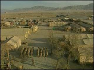 Căn cứ Bagram của Mỹ tại Afghanistan