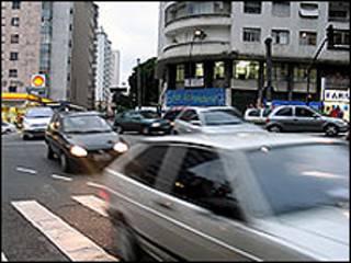 Carros en Sao Paulo