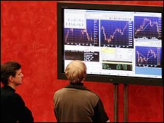 Курс акций на российской бирже