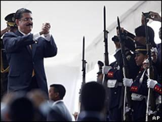 Manuel Zelaya, presidente de Honduras.
