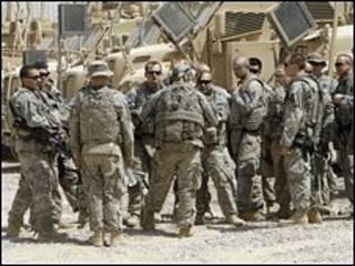 Tropas americanas no Iraque (AFP)