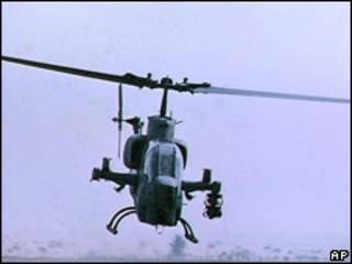Helicóptero Bell (foto de archivo).