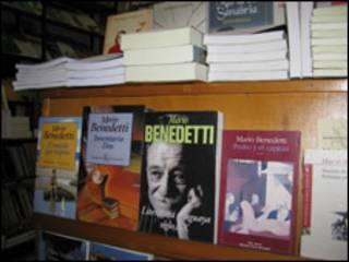 Libros de Mario Benedetti, escritor uruguayo.
