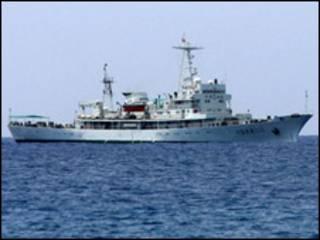 Tàu tuần tra ngư trường của Trung Quốc, hình minh họa