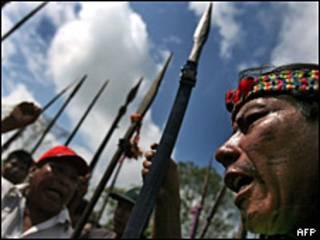 Indígenas amazónicos