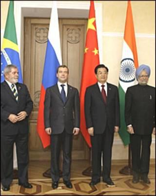 Các lãnh đạo khối BRIC