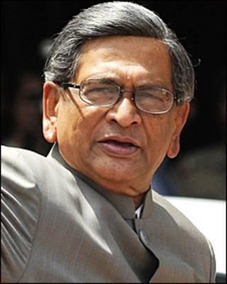 भारतीय विदेश मंत्री एसएम कृष्णा