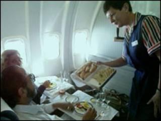 Azafata British Airways