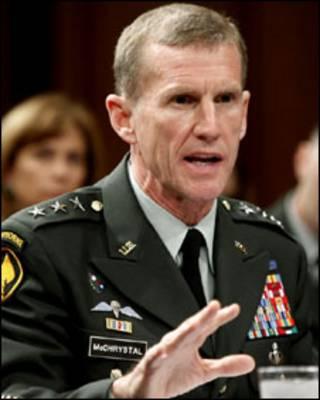 ژنرال استانلی مک کریستال، فرمانده ناتو در افغانستان