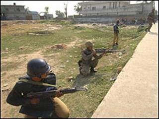 पुलिस अकादमी पर हमला