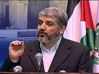 رئيس المكتب السياسي لحماس خالد مشعل