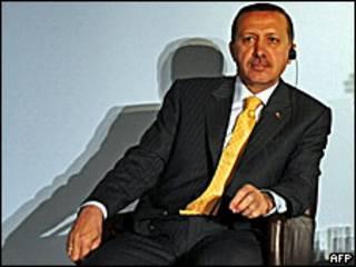 Raiisal wasaaraha  Turkey Tayyip Erdoga