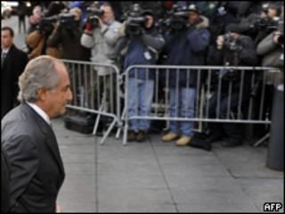 Bernard Madoff, financista estadounidense acusado de fraude.