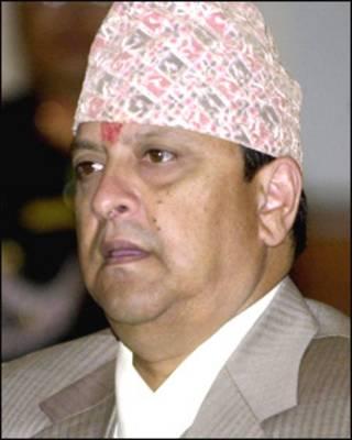 नेपाल के पूर्व राजा ज्ञानेंद्र