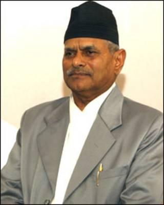 नेपाल के राष्ट्रपति राम बरन यादव