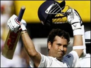 तेंदुलकर के 84 रन