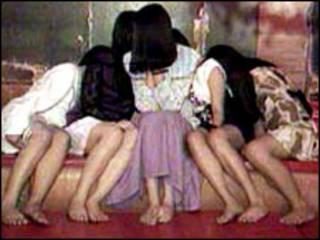 Nhân viên tình dục trẻ em tại Thái Lan