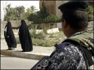 شرطي عراقي في الموصل