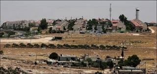 Asentamiento de Adam, norte de Jerusalén.