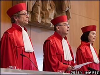 Судьи Конституционного суда Германии