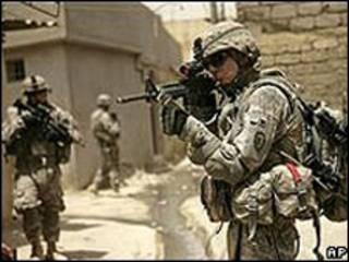Lính Mỹ tại Iraq