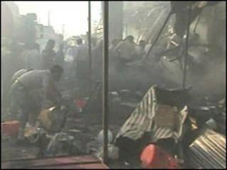 Kirkuk depois da explosão, 29/06