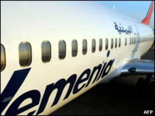 طائرة ايرباص يمنية