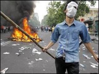 المظاهرات الايرانية عقب الانتخابات الرئاسية