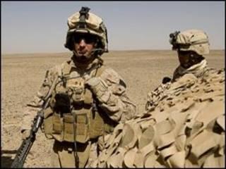 سربازان آمریکا در افغانستان