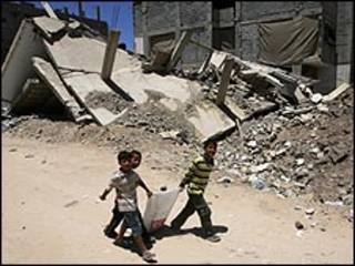 الدمار في غزة عقب الحرب