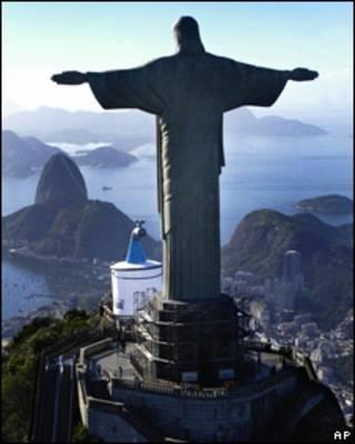 El Cristo de Corcovado de Río de Janeiro