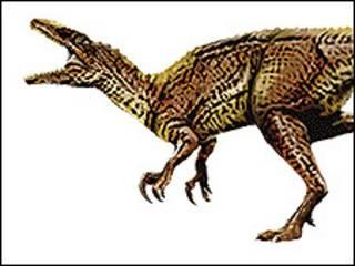 Impresión artística del dinosaurio carnívoro Banjo (Imagen: Australian Age of Dinasours)