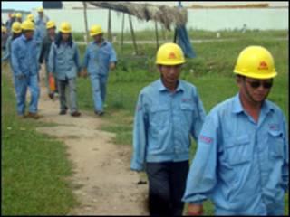 Lao động TQ ở Việt Nam (ảnh VNN)