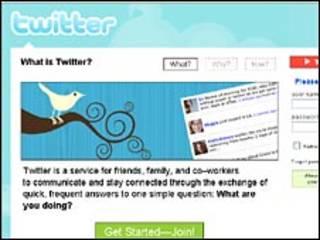 تويتر بدأ كوسيلة لابقاء الاصدقاء على اتصال