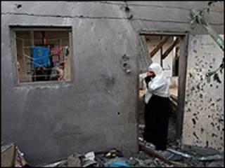 یک زن فلسطینی