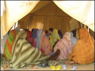 لاجئات من دارفور