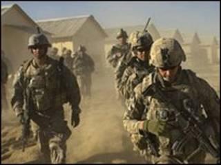 ارتش آمریکا در افغانستان