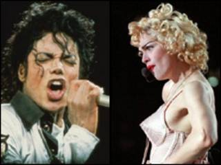 Madonna và Jackson