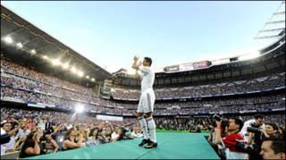 Buổi ra mắt của Ronaldo tại sân Berbabeu