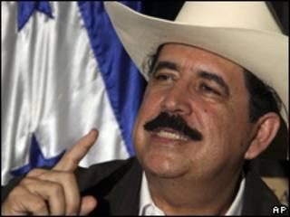 Manuel Zelaya, presidente depuesto de Honduras.