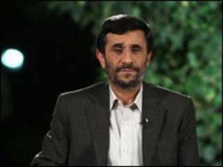 محمود احمدی نژاد- عکس از سایت ریاست جمهوری