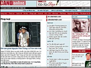 Báo trong nước cáo buộc ông Trần Anh Kim tham gia khối 8406 vời nhiều bài viết 'chỉ trích' nhà nước