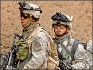 امریکايي سرتېري په عراق کې