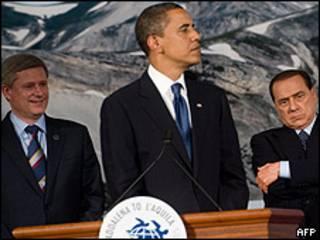 Líderes del G-8