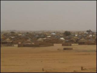 مخيم تلوم للاجئي دارفور شرقي تشاد