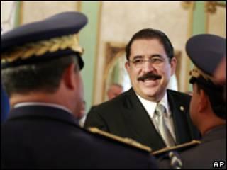 Manuel Zelaya, presidente depuesto de Honduras